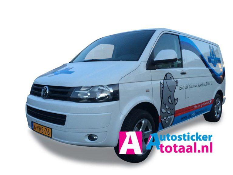 Volkswagen Transporter VisBroeders - Stickers en Reclame