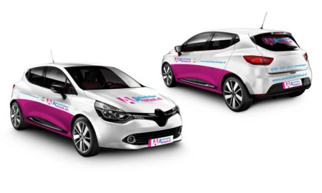 Luxe auto stickers reclame pakket l