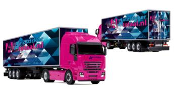 Vrachtwagen wrappen laten wrappen zelf wrappen