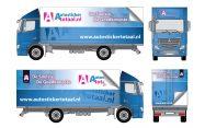 Wrappen vrachtwagen inclusief montage