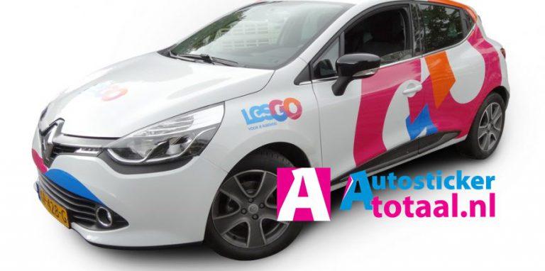 LesGo Lesauto Renault Clio - AutoStickerTotaal Stickers en Reclame