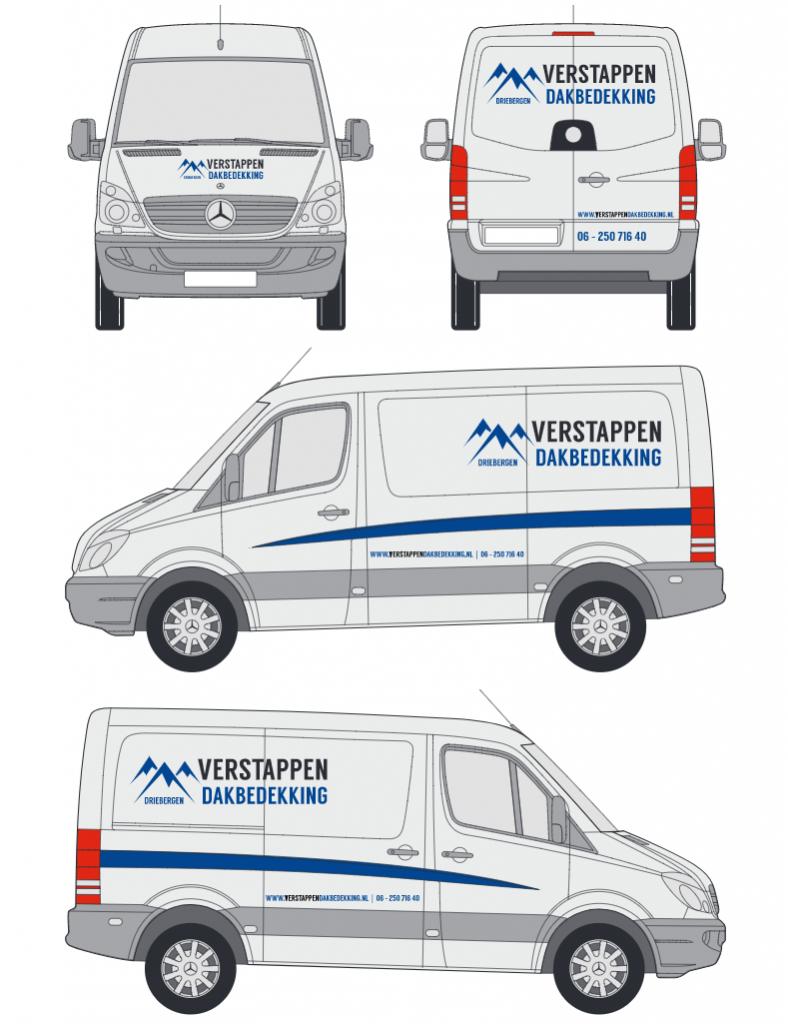 Ontwerp-lijntekening-mercedes-sprinter-Autosticker-Totaal
