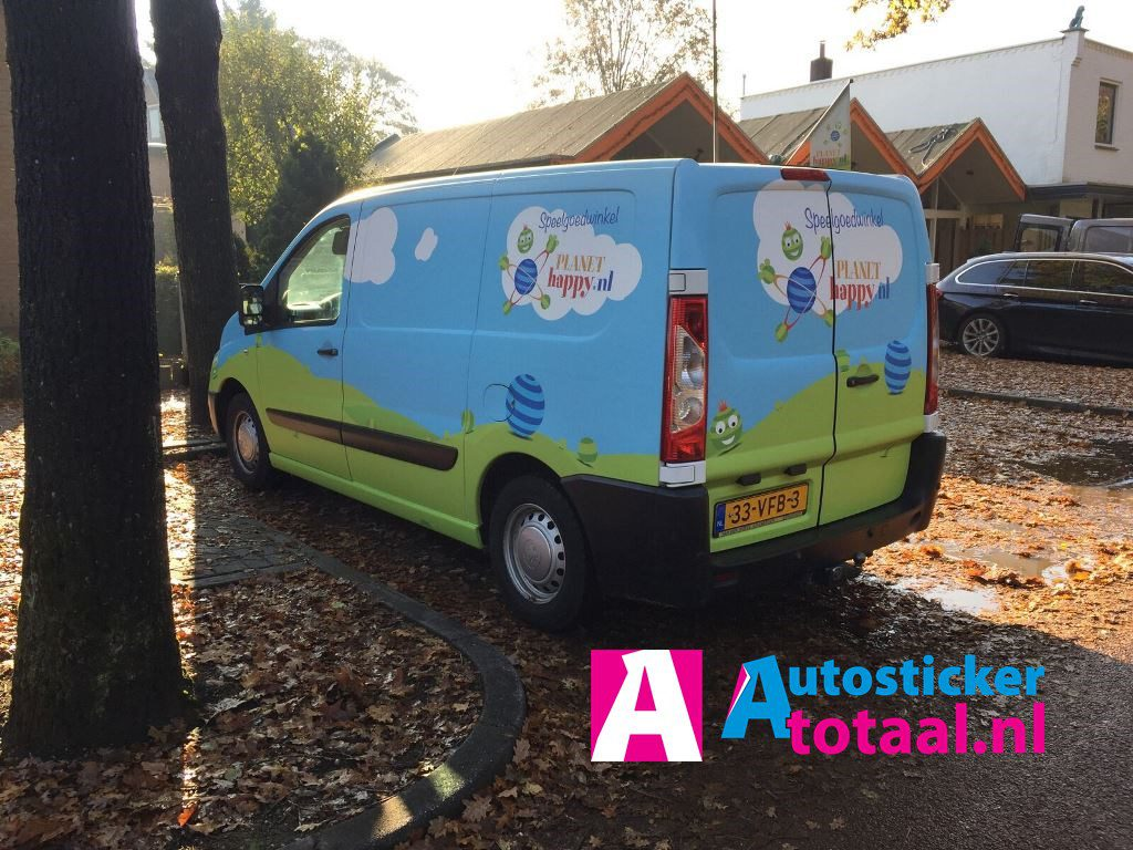 Bestelauto-carwrap-full-color-print-AutoStickerTotaal - 06