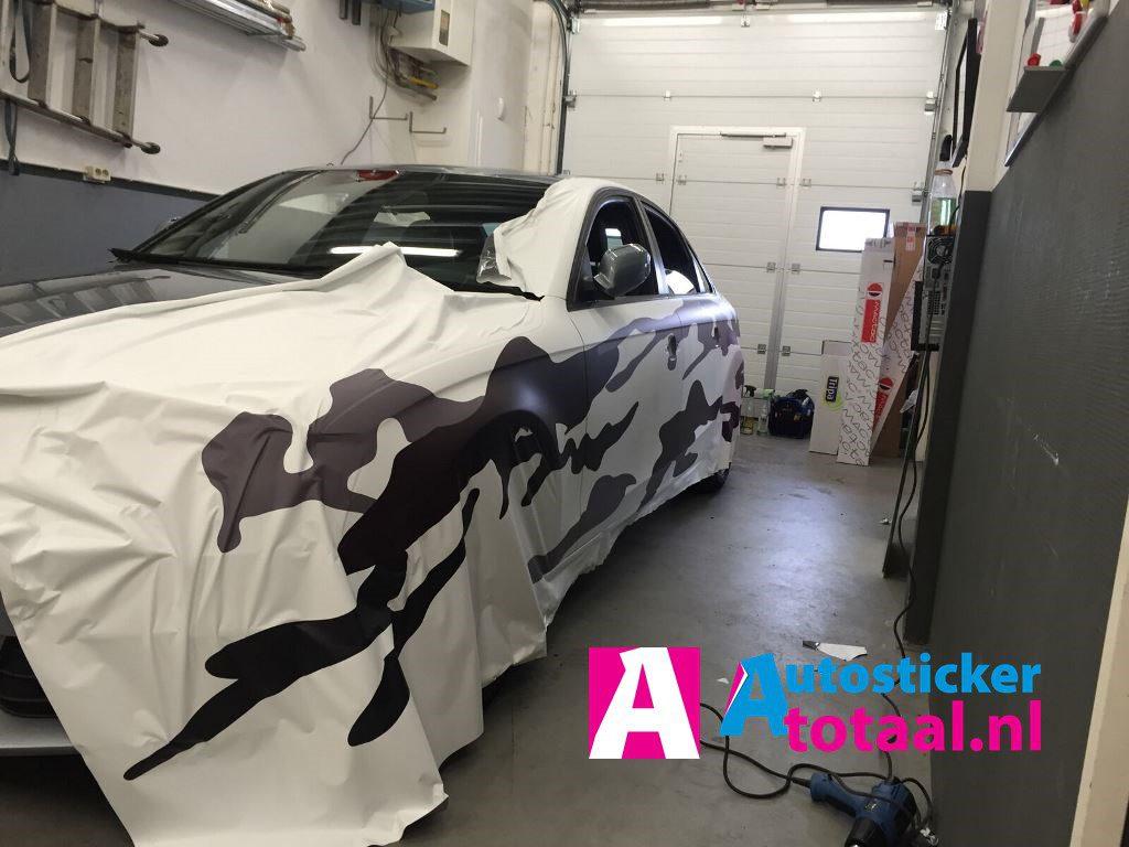 Car wrap auto audi print - Auto Sticker Totaal - 01