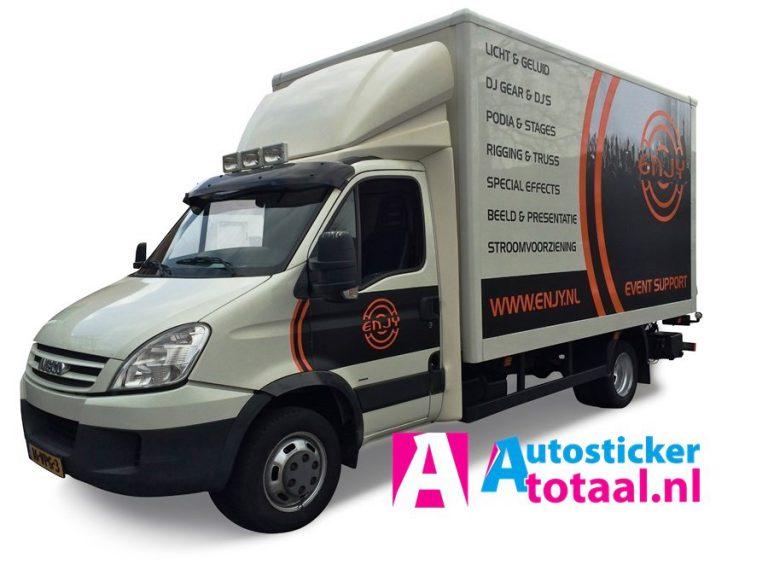 Iveco 40C18 Euro4 - Licht en Geluid - AutoStickerTotaal Stickers en Reclame