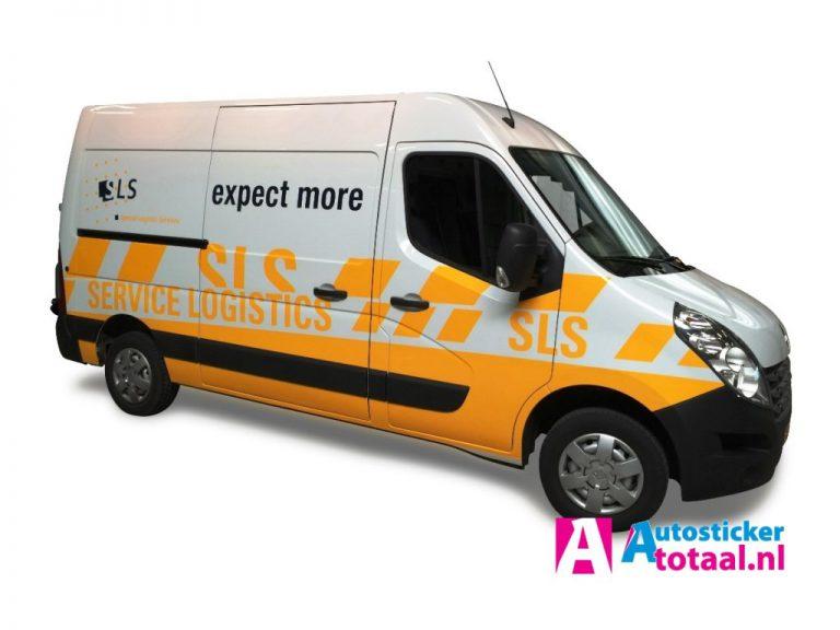Renault Master SLS - AutoStickerTotaal Stickers en Reclame