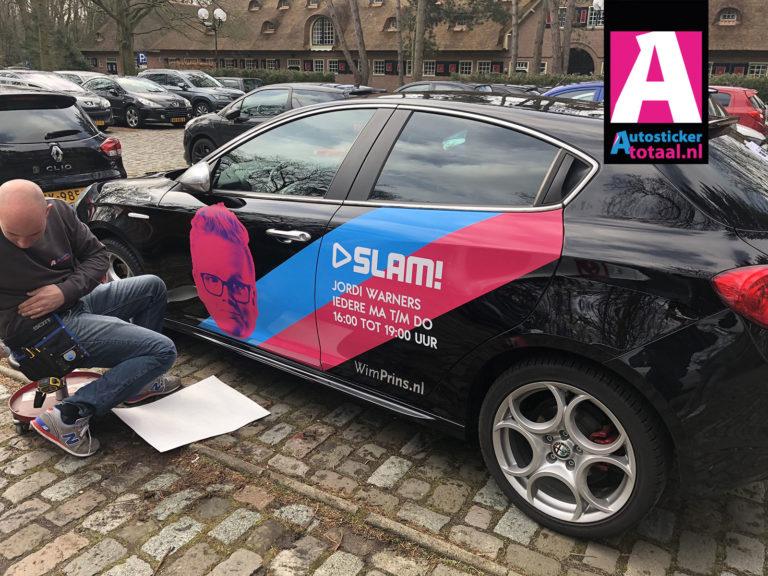 Alfa Romeo Giulietta Carwap en Stickers – SLAM DJ Jordi Warners