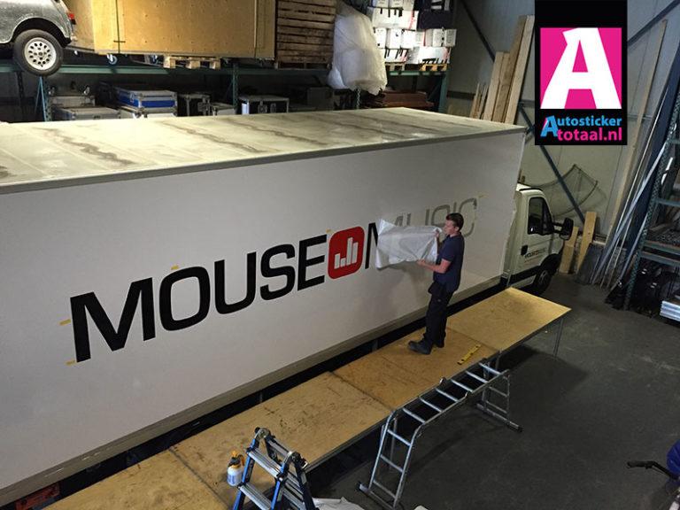 B-E Trailer Sticker – Mouse Music