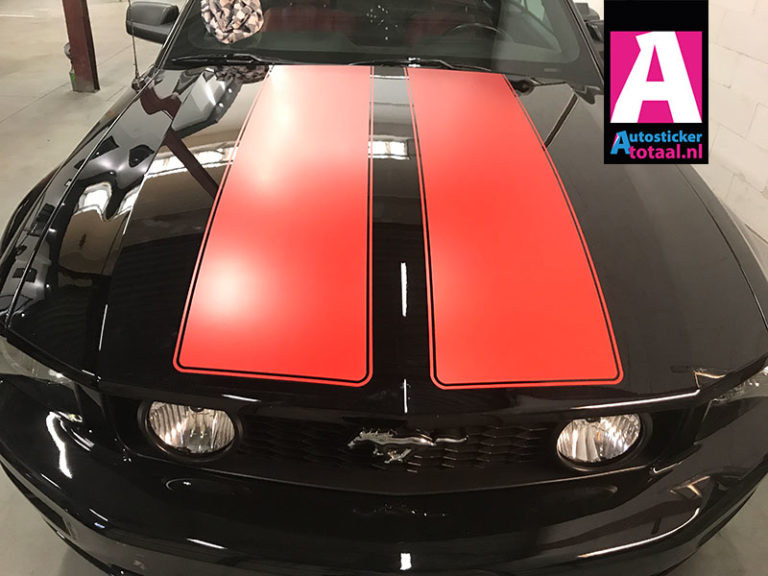 Ford Mustang Striping Carwrap Stickers