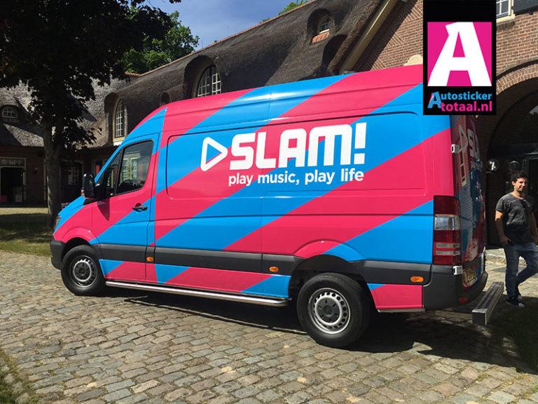 Mercedes Sprinter – SLAM radiostation