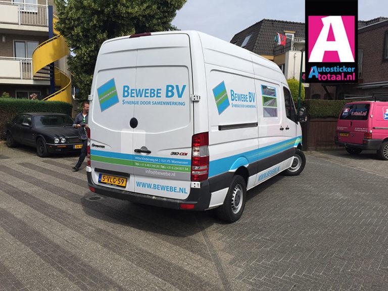 Mercedes Sprinter Stickers – Bewebe BV Nieuw Vennep