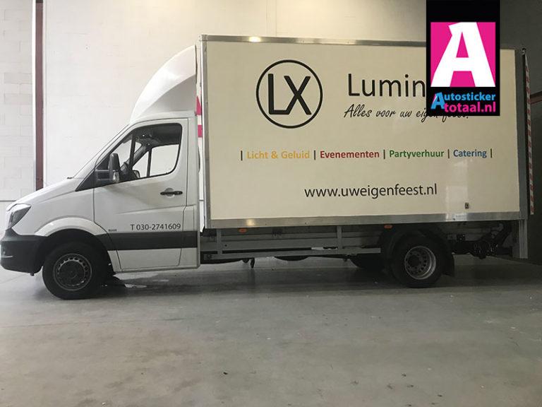 Mercedes Sprinter Stickers – Lumineux Nieuwegein