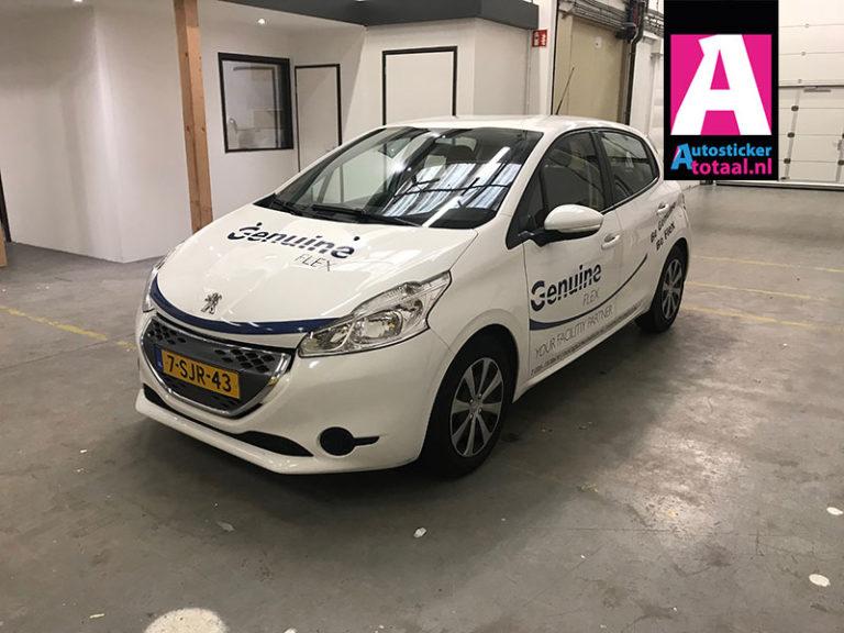 Peugeot 208 Stickers – Genuine Flex Uitzendbureau Amsterdam