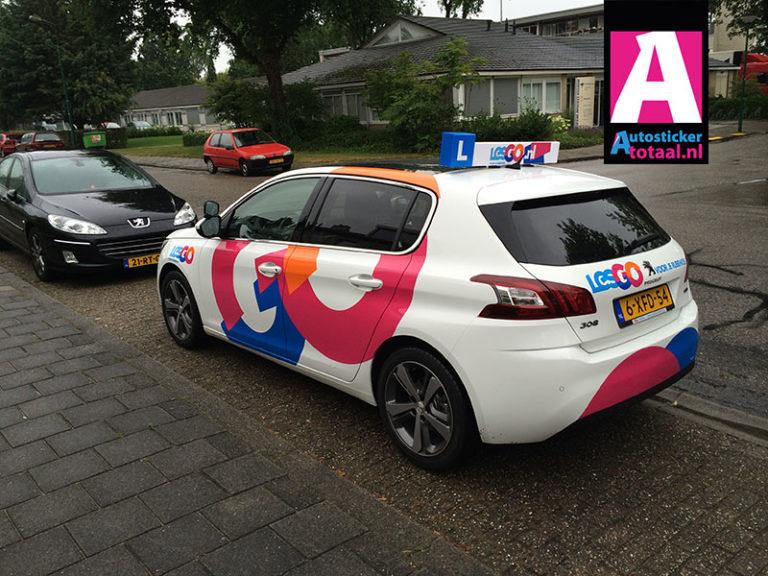Peugeot 308 Carwrap en Stickers Lesauto – Les Go