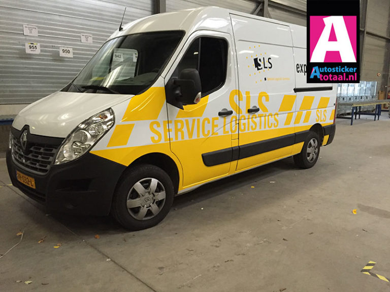 Renault Master Stickers – Service Logistics Breda