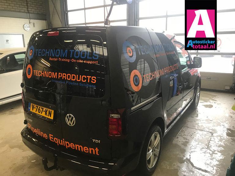 Volkswagen Caddy Stickers – Technom Tools Zeist
