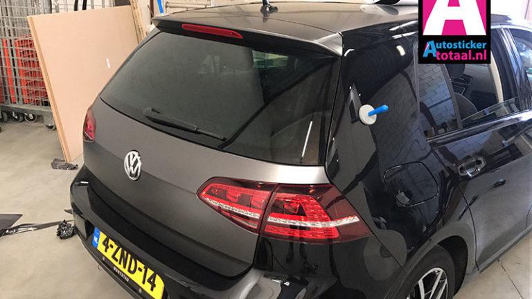 Volkswagen Golf Car wrap mat