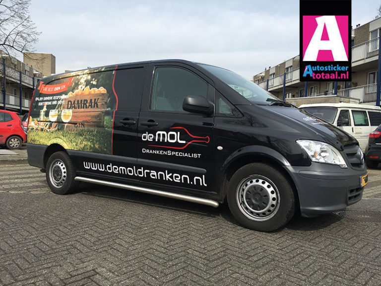 Mercedes Vito Stickers & Carwrap – De Mol Dranken